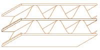 Структура картона