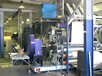 Производство коробок из гофрокартона